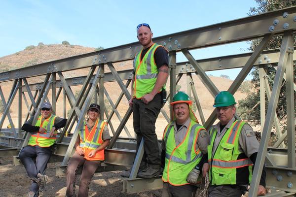 CV Bridge in place - open space technicians-1