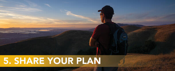 5. Share your plan