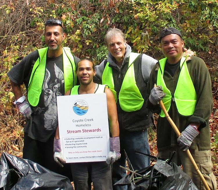 Coyote Creek Homeless Stream Stewards Program