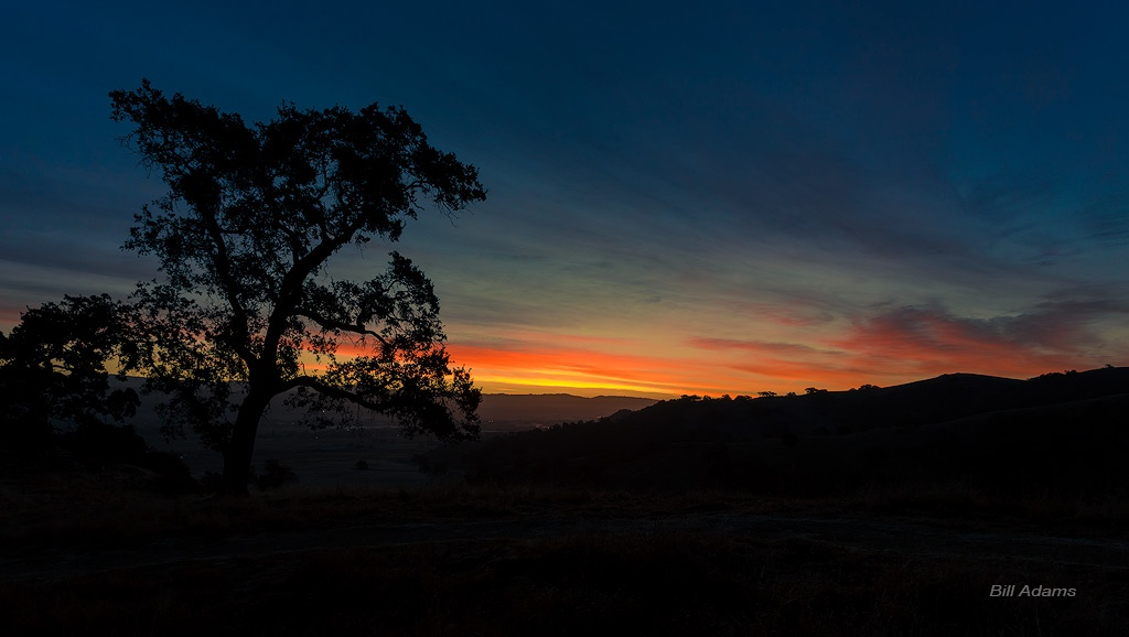 Sunset - Coyote Valley - BA - 1-12-16