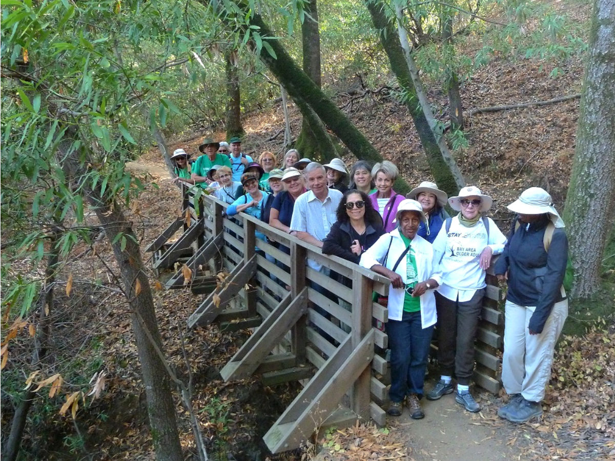 bay area older adults - park crawl hike
