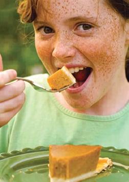 girl pumpkin pie