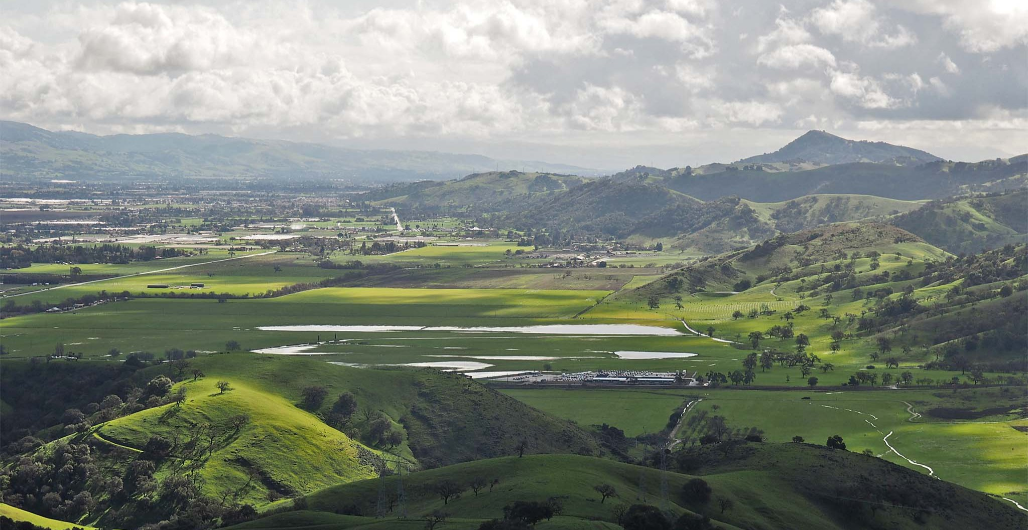 View of Coyote Valley looking south